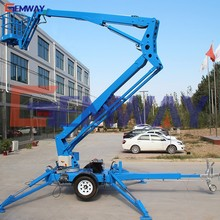 CE approved hydraulic electric aerial truck mounted articulated boom lift for sale