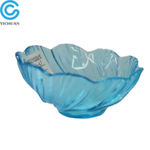 provide highest quality colored footed glass dessert bowls