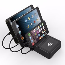 2018 rapid charge mobile phone charger charging station ev , wireless charger pad for iphone 8
