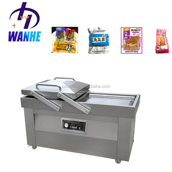 DZ(Q)-400/2SB stretch vegetable meet food rice bag vacuum packaging machine vacuum sealing