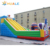 plato pvc tarpaulin inflatable castle slide for kids and adult / inflatable jumping castle with slide in entertainment park