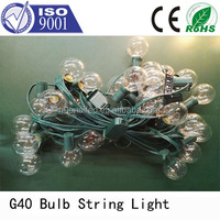G40 globe string lights China supplier led lights outdoor led globe string lights