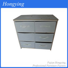 2015 hot sale pine wood long chest of drawers bedroom