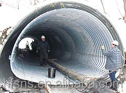 Arch Shape Galvanized Metal Corrugated Culvert Pipe - Buy ...