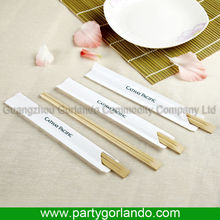 disposable Personalized paper covered bamboo chopsticks