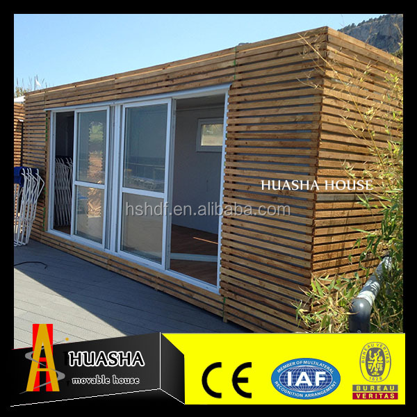 Low cost galvanized steel structure prefab modular container hotel house