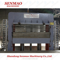 hydraulic hot press/hot press melamine laminating machine/plywood making machine