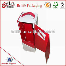 High Quality Paper Wine Boxes With Handle