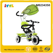 Safe kids 3-wheels bike pedal baby tricycle