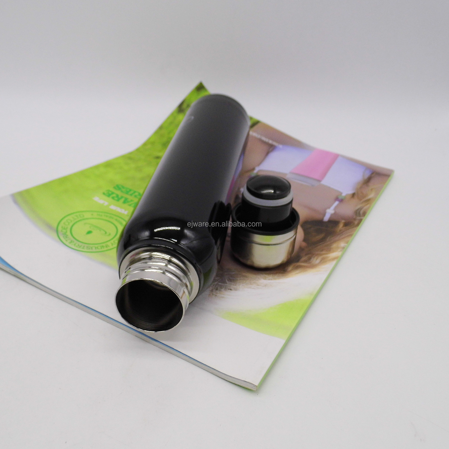 Wholesale Vacuum Cups With Color Coating Stainless Steel Thermos Flask