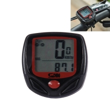 Sunding English Waterproof 14 Function Cycle Computer LCD Odometer Speedometer