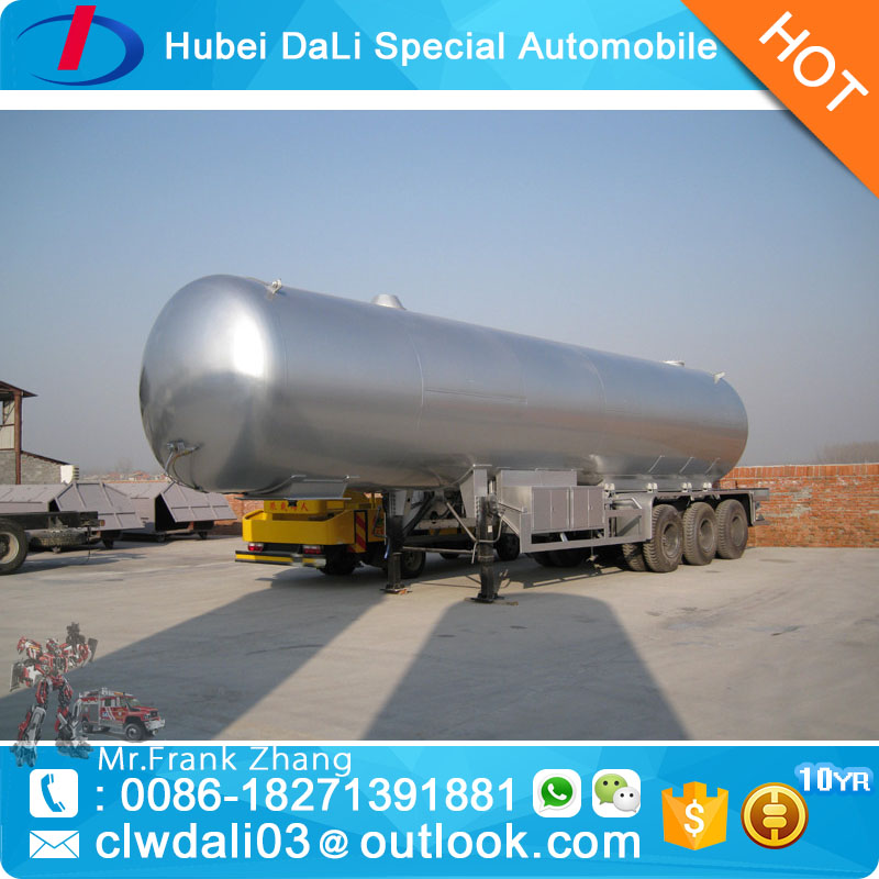 50cbm semi trailer mounted pressure vessel