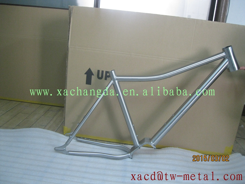 titanium mtb bike frame with gear box titanium pinion bicycle frame with high quality custom mtb bike frame with gearbox