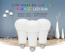 High power 12W RGB CCT Kelvin adjustable from 2700k-6500k double pure white wifi app lamp