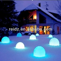 waterproof hight voltage large outdoor christmas balls