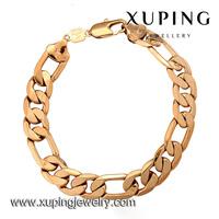 73091 Xuping gold plated jewelry bracelet jewelry fashion bracelet men bracelet for men