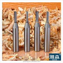 Woodworking solid carbide router cutter