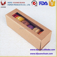 paper cardboard pie boxes for macaron packaging and Cupcakes packaging
