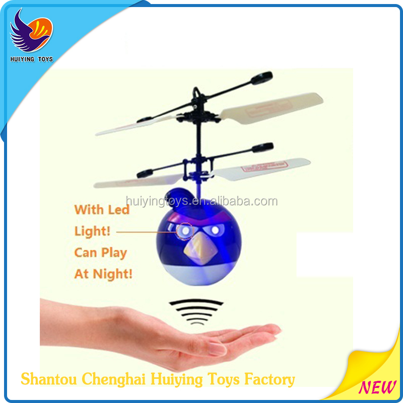 Infrared Induction Toy Remote Control Flying Bird Toys HY-820U Flying Plane New Led Flying Toy New Flying Bird Toy Products