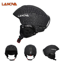 Wholesale Custom Winter Outdoor PC+EPS Material Tab Snowboard Safety Ski Helmet