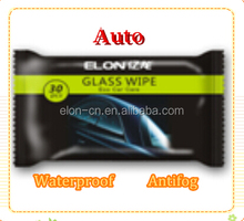 waterless car wash / car care cleaning / glass wet wipes