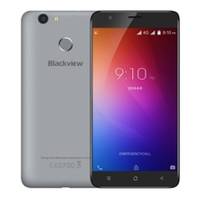 Blackview E7 Unlocked Phone, 5.5 inch Android 6.0 MTK6737 Quad Core 1.3GHz, Support GPS, Dual SIM 4G Mobile Phone