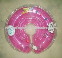 2015 Hot sale inflatable infant swim neck float ring