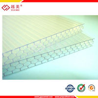 Plastic honeycomb pc sheet manufacture
