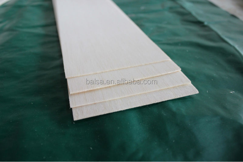 wood sheet for airplane models
