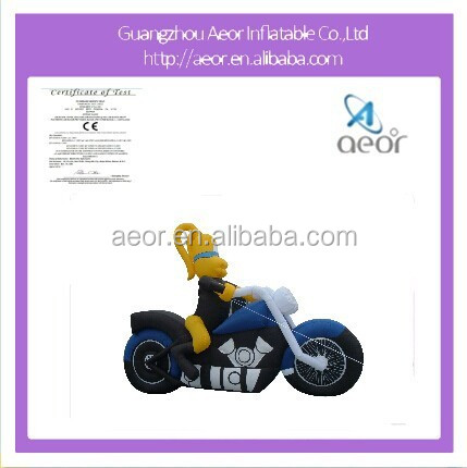 2015 hot sale inflatable moto for advertising,inflatable advertising products