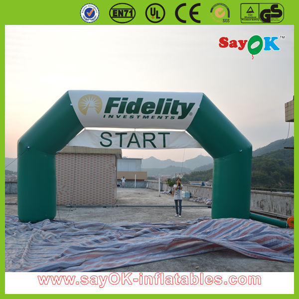 outdoor advertisement christmas inflatable arch for promotional