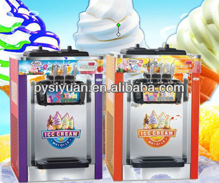 pating tabletop ice cream making machine for sale