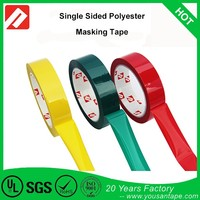 Alibaba Best Sellers White Black Blue Green Yellow Red Transparent Clear Similar 3M Mylar Tape For Insulation