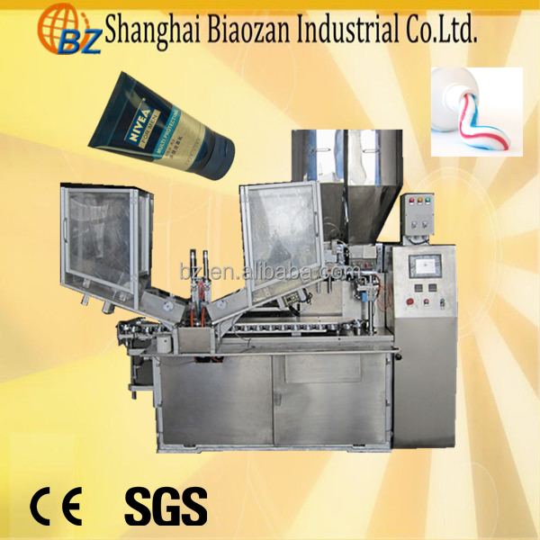 factory professional self-design high quality Automatic Paste Tube Ultrasonic Filling Sealing Machine for Sale
