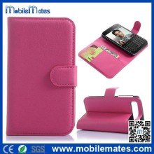 Case Cover for Blackberry Q20, Stand PC+PU Leather Case with Card Holder for BlackBerry Classic Q20