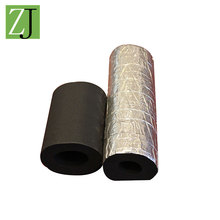 Wholesale protective round soft black rubber foam insulation padding tube
