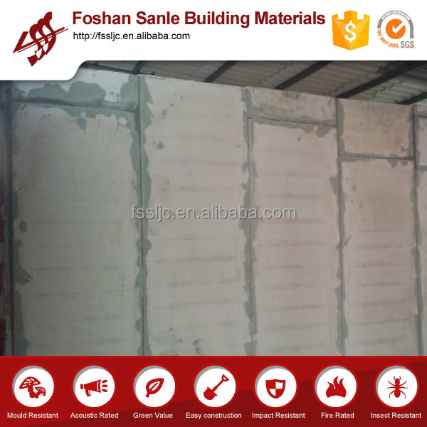 Partition Wall/ceiling/floor cement sandwich wall board