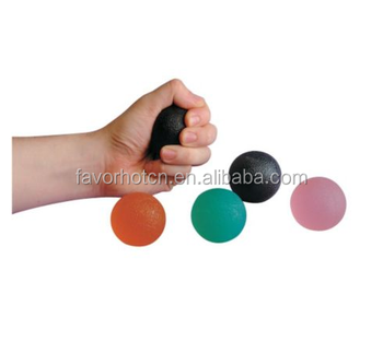 Color therapy ball Gel hand exerciser