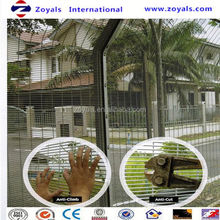 2015 Security fence:welded mesh anti climb fencing profiled welded mesh fencing