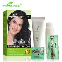 black shine hair colour elegance hair products black essence hair gmpc oem factory