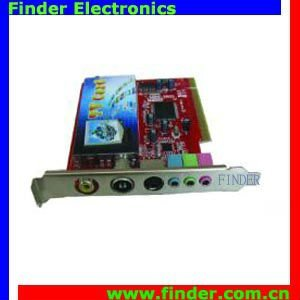 PCI TV Tuner Card with FM (Philips 7130 Chipset)
