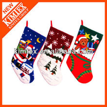 2014 Christmas festival woolen christmas stocking