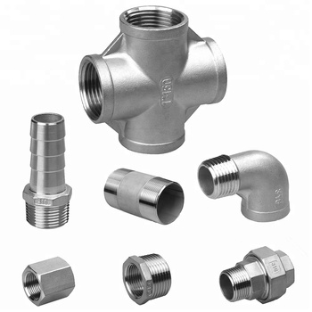 Casting Stainless Steel 304 316 Threaded plumbing Pipe Fittings male and female threaded plumbing pipe fitting