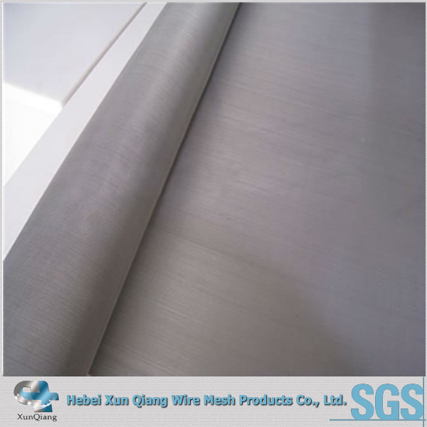Pure silver battery wire mesh
