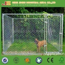 10*10*6 ft Classic Galvanized Outdoor Dog Kennel for Sale