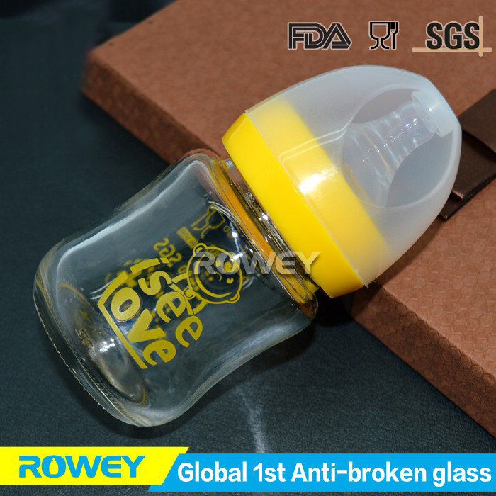 glass baby bottle lucky mother care and baby products