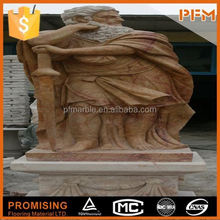 latest natural best price beautiful hand carved marble bull and bear