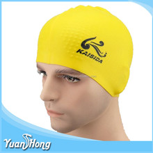 Highly quality chinese factory selling cheap price silicone swim cap for adult