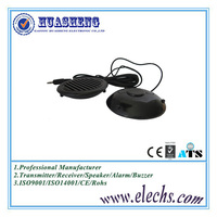 3 inch good sound 0.5w round and black wire active toy mini speaker