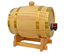 china factory FSC&SA8000&BSCI display 3L 5L wooden liquor wine beer barrel bucket for chateau